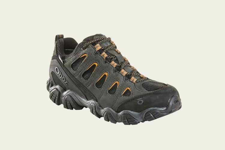 Oboz Sawtooth II Low B-Dry Hiking Shoe - Men's Shadow Burlap 12