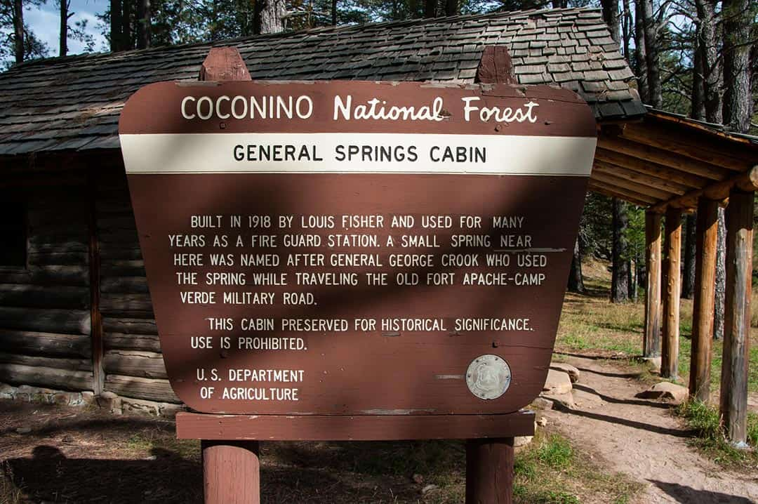 general springs cabin