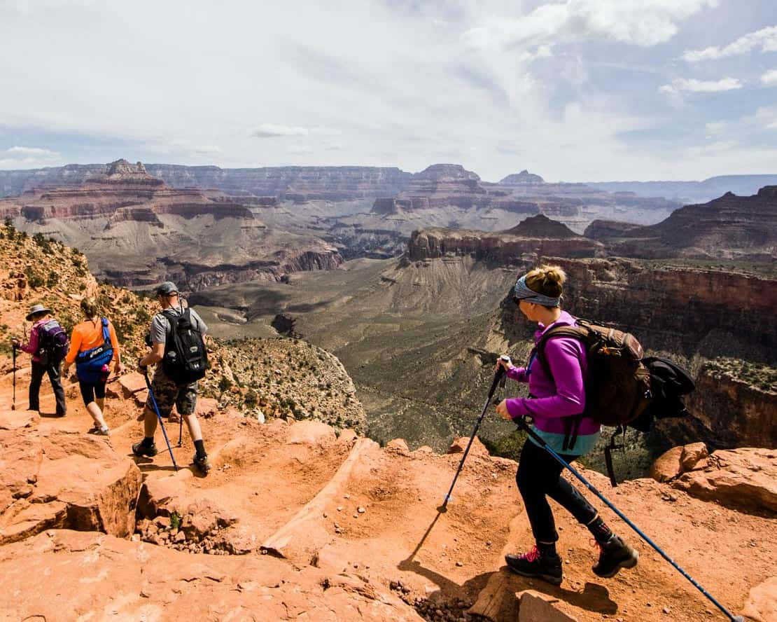 oars grand canyon hiking tour