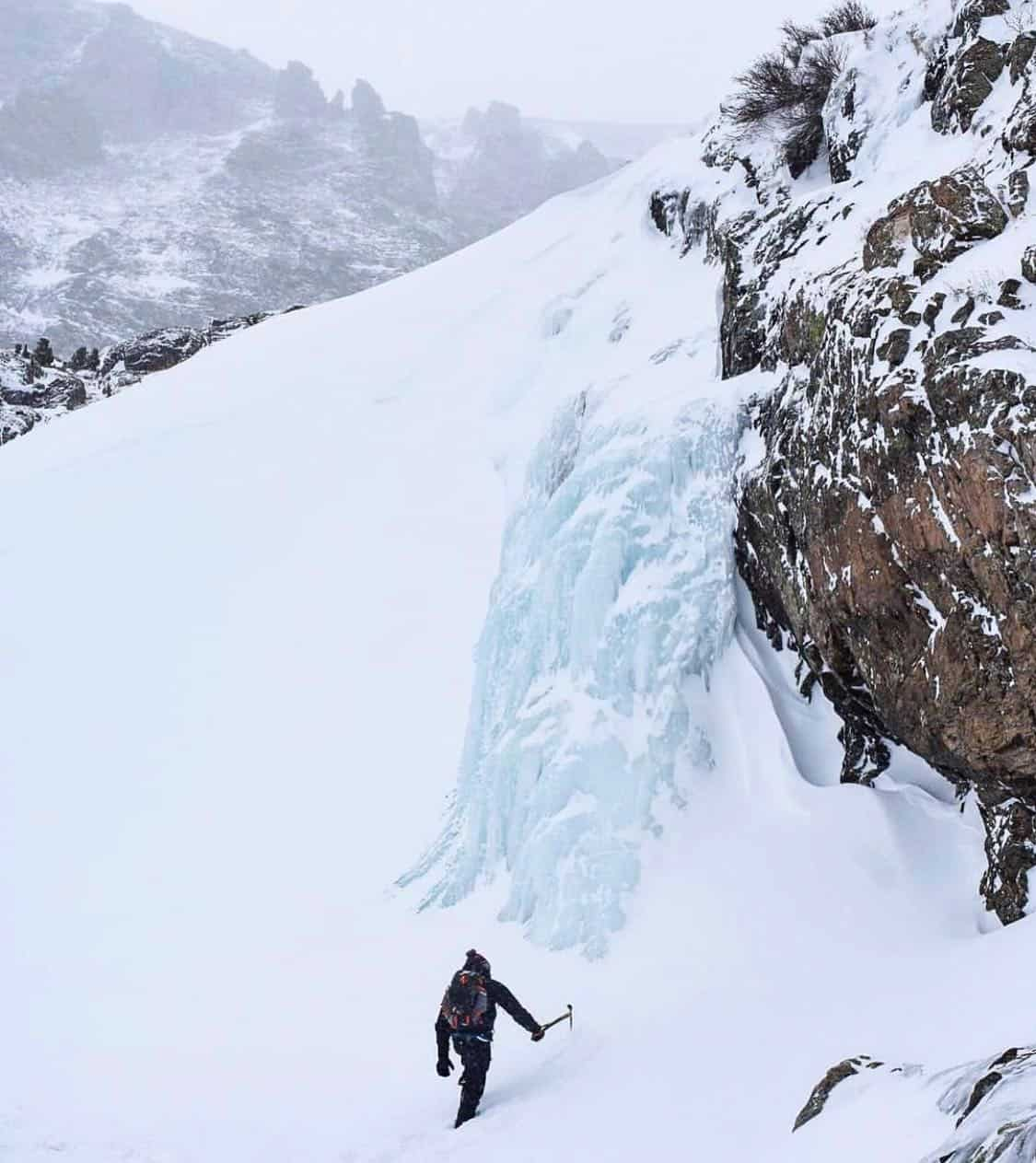 yogi magee ice climbing