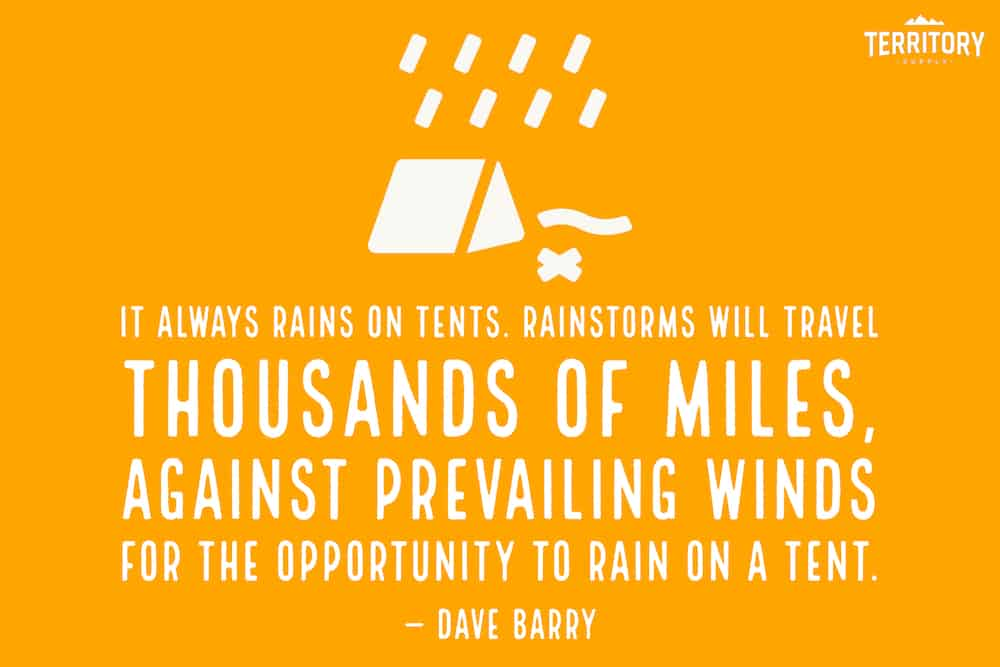 Funny Camping Quote Dave Barry