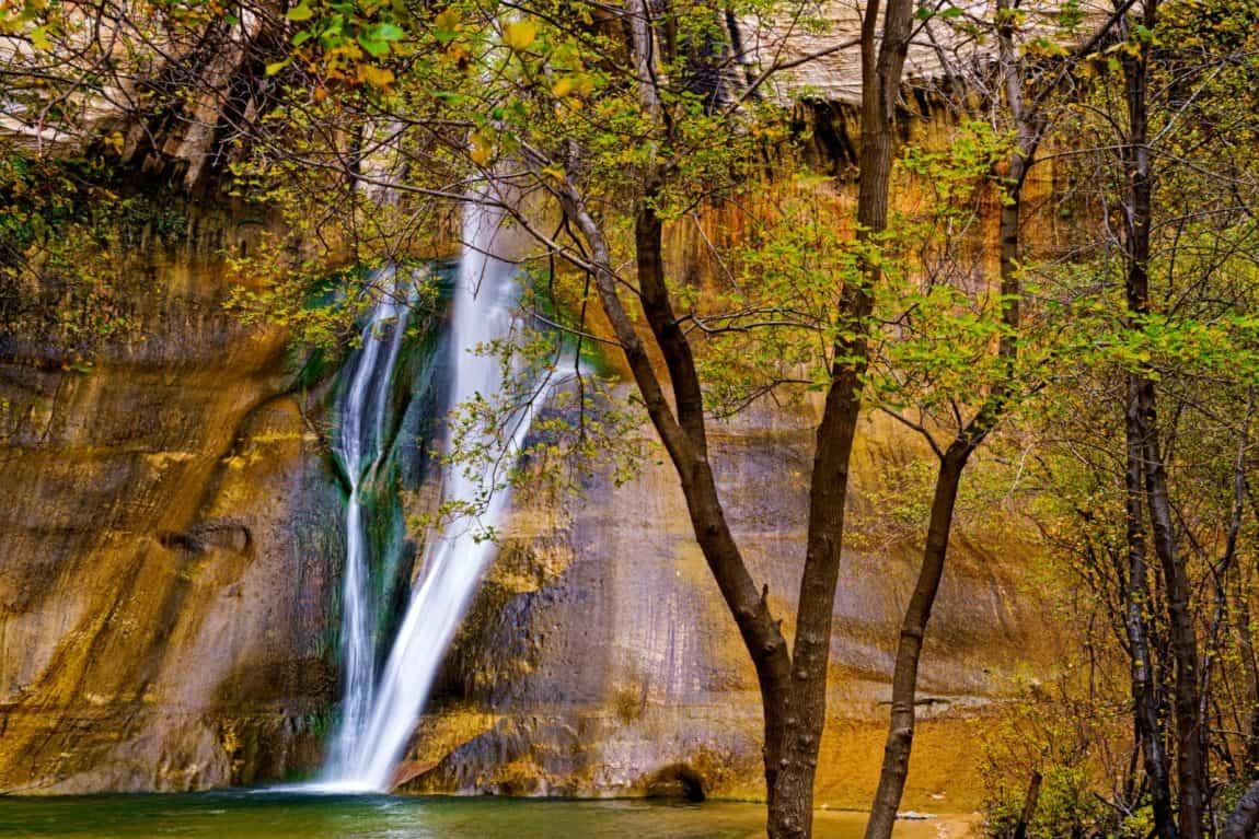 utah waterfalls