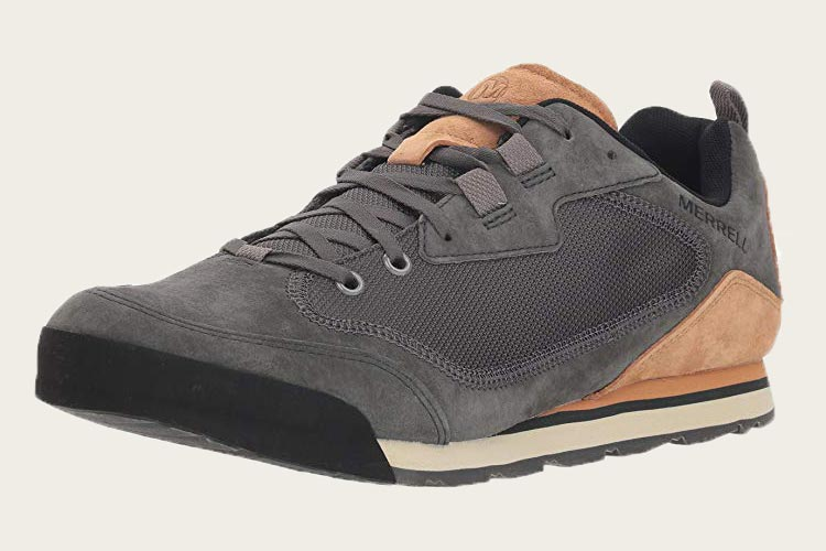 merrell burnt rock traveler suede
