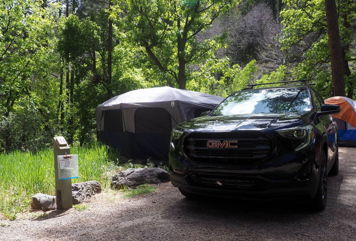 pine flat campsite