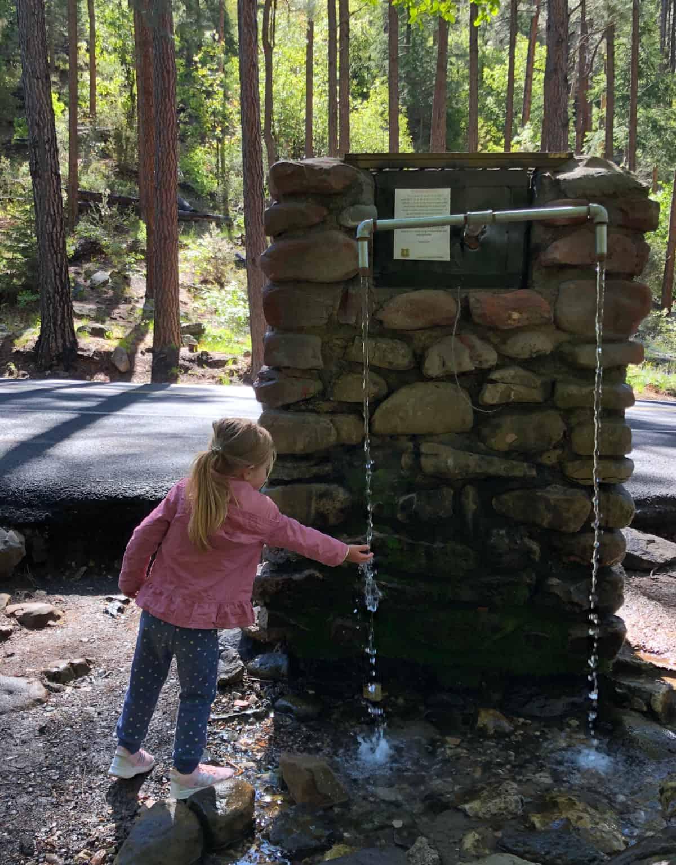 pine flat spring