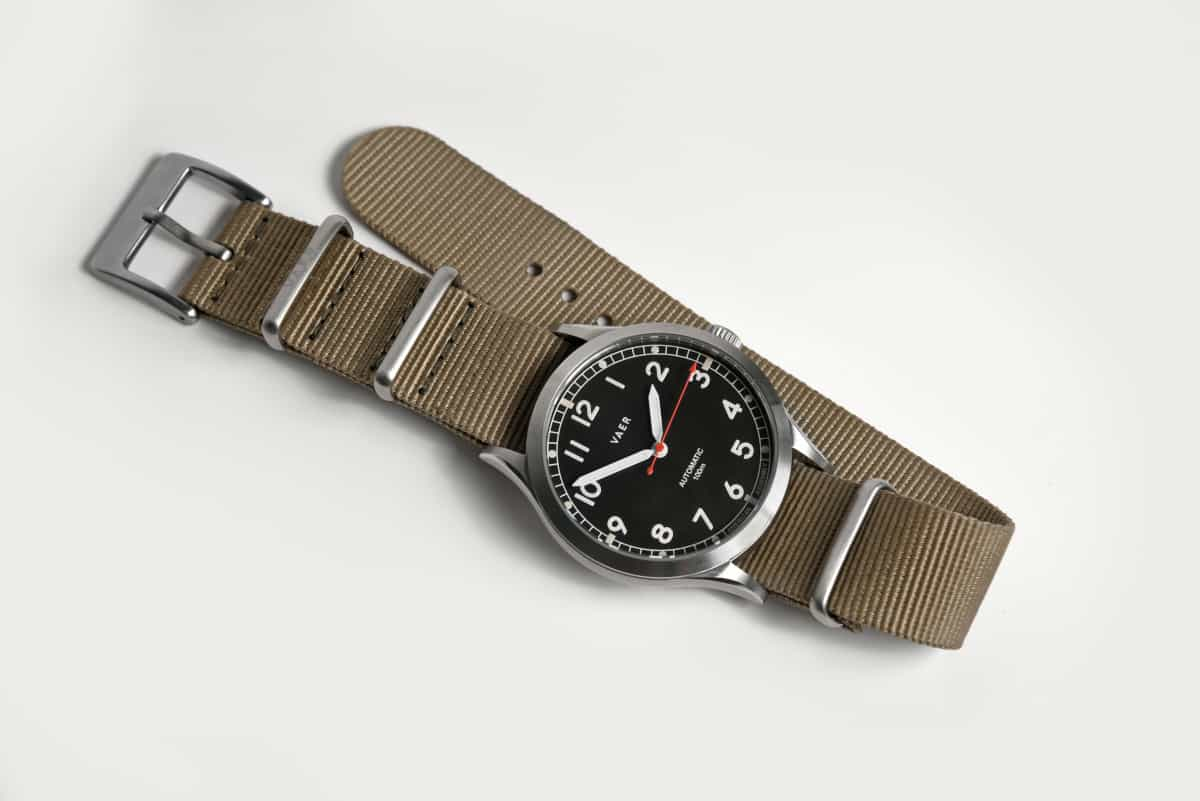 vaer automatic watch straps