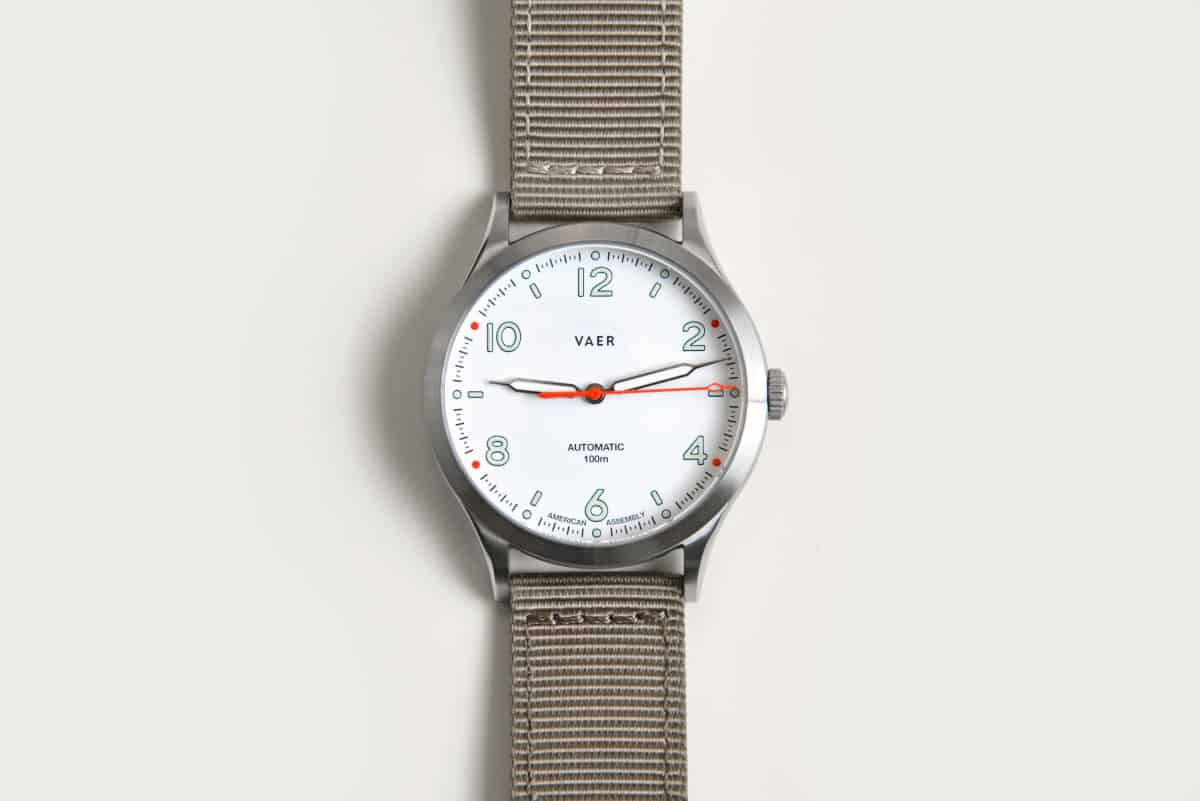 vaer automatic watch