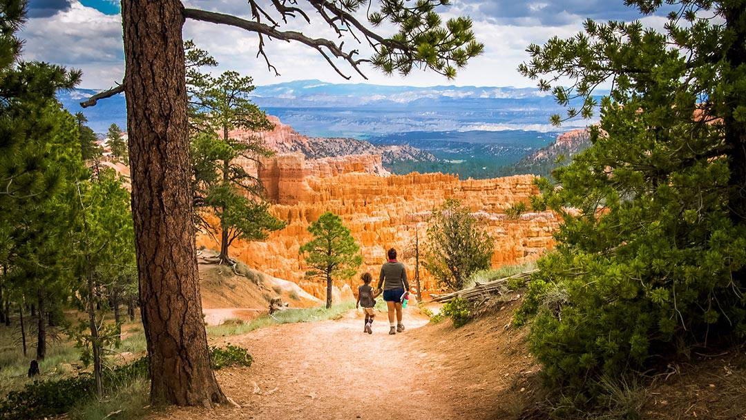 bryce canyon hikes - rim trail