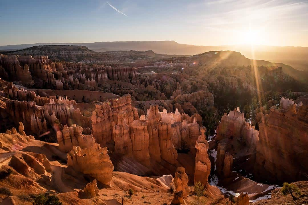 bryce canyon hikes - sunrise point to sunset point