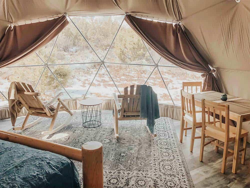 domes canyonlands utah airbnb