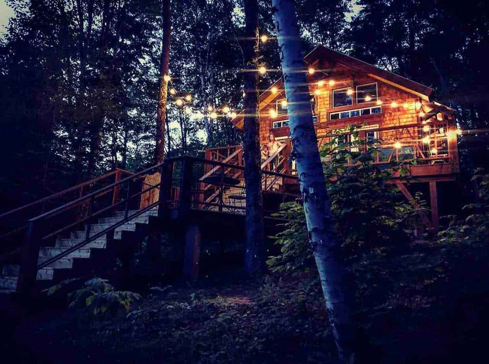 outpost treehouse airbnb vermont