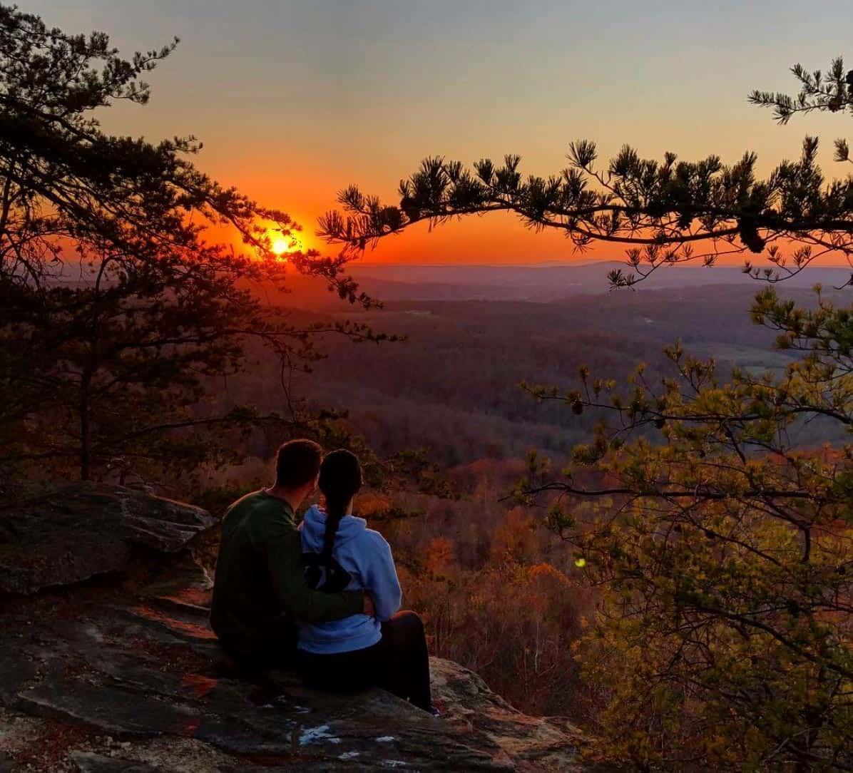 sunset rock via bluff trail