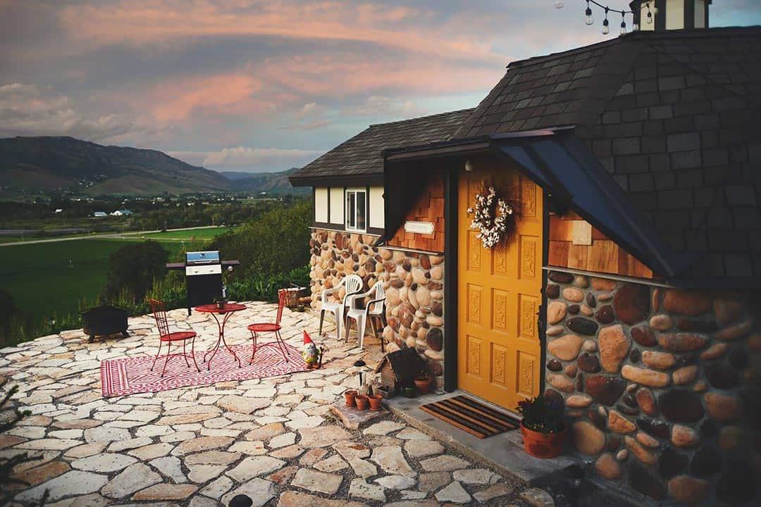 utah airbnbs - mini dome