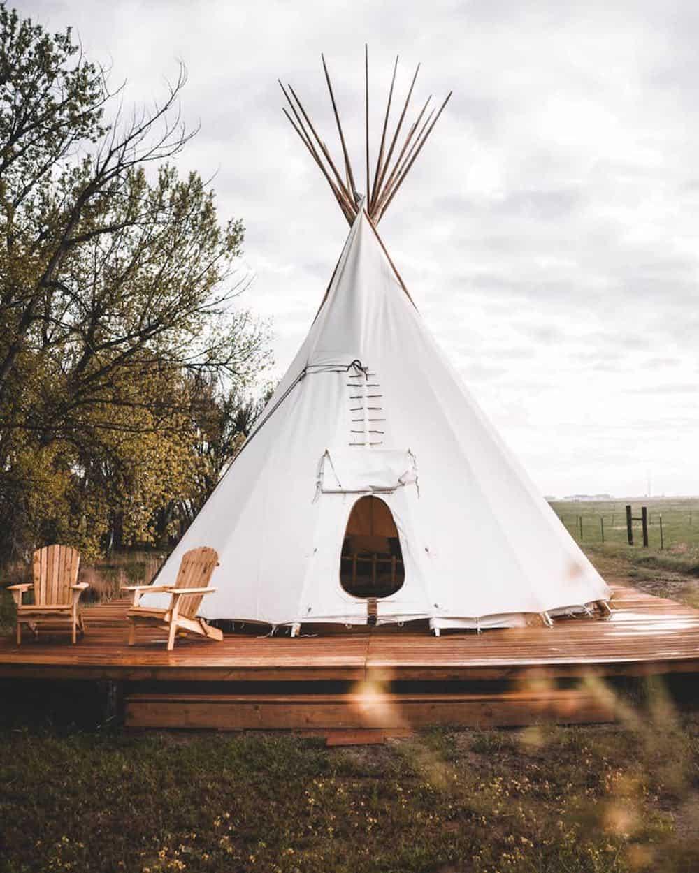 DEKO Ranch Tipi