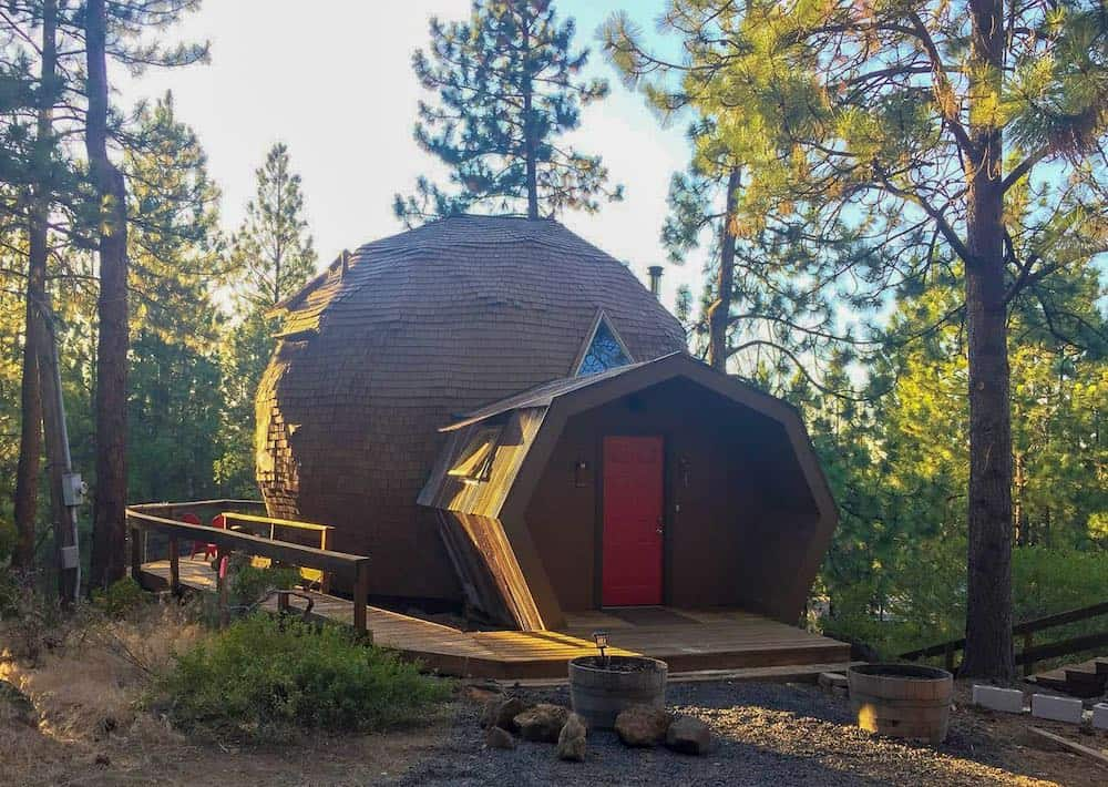 Dome Sweet Dome vacation rental in Oregon