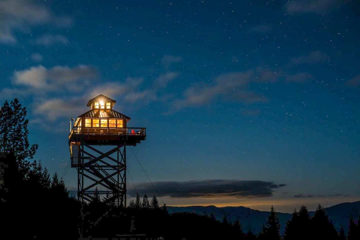 Oregon Fire Lookout Rental