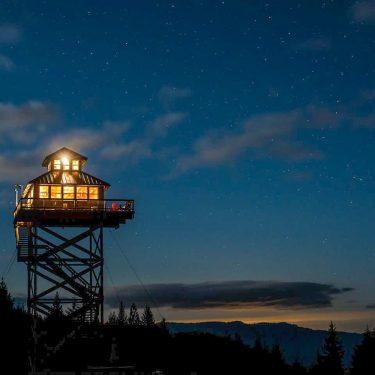 Oregon Fire Lookout Rental