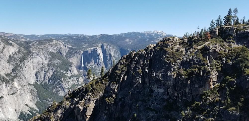 Pohono Trail and Bridalveil Falls
