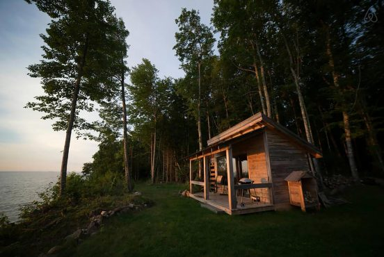 best glamping spots michigan