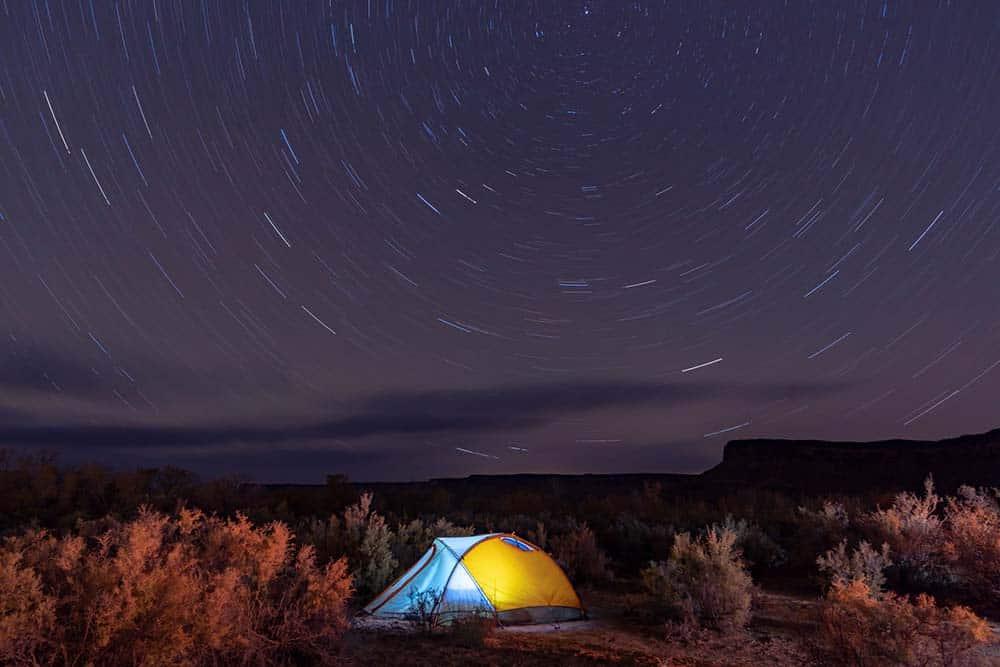 camping moab utah