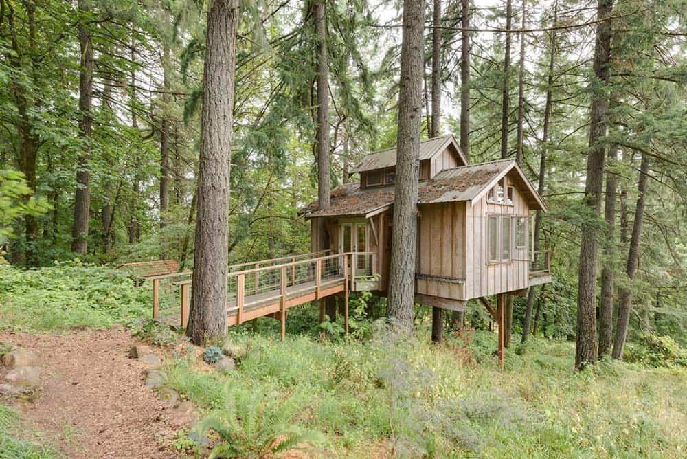 deer haven farm treehouse oregon