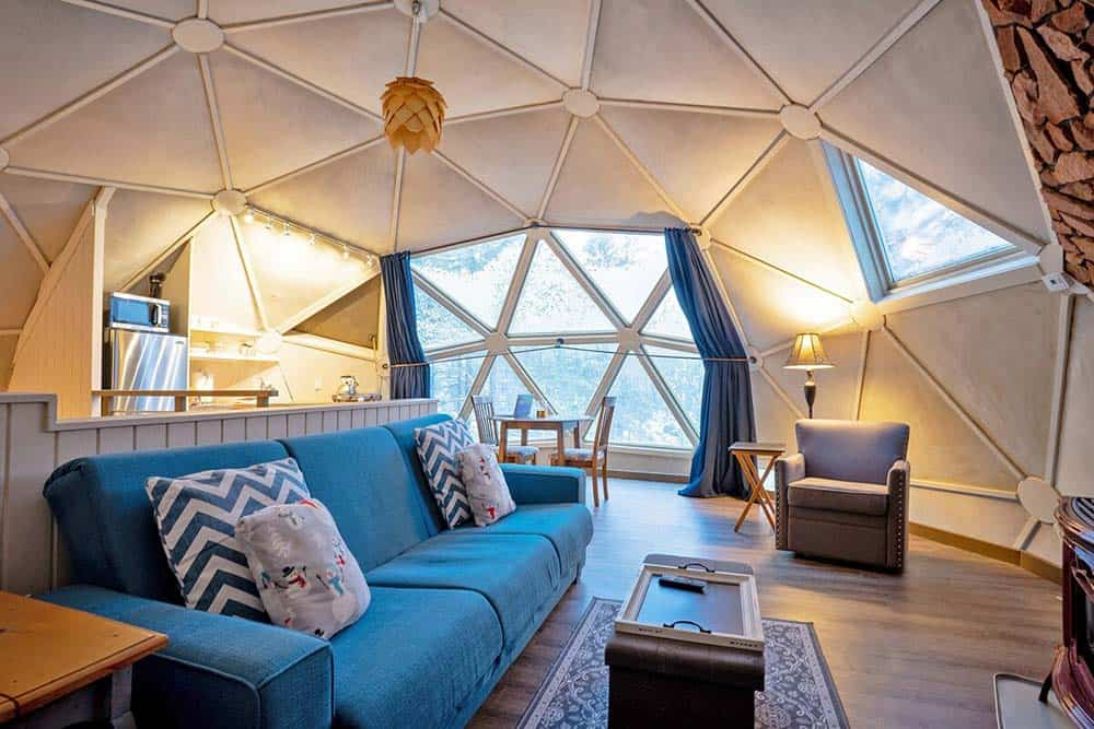 dome sweet dome oregon airbnb