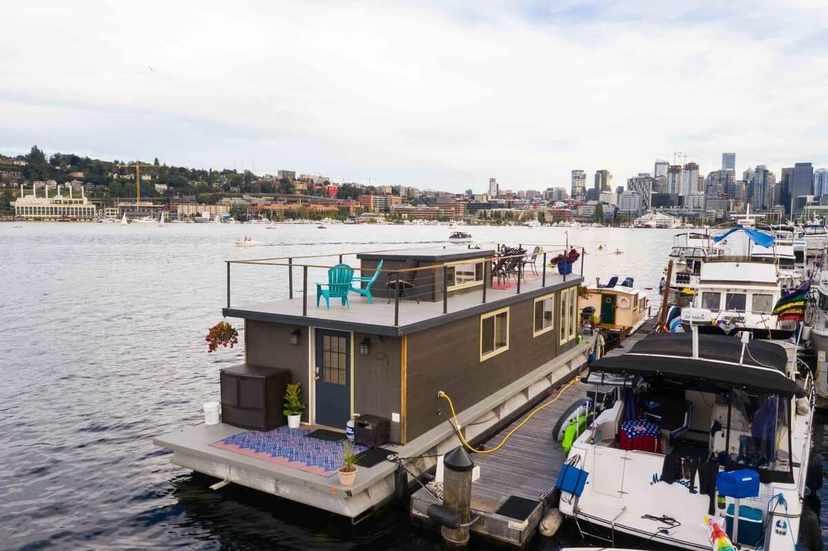 ginger houseboat rental seattle