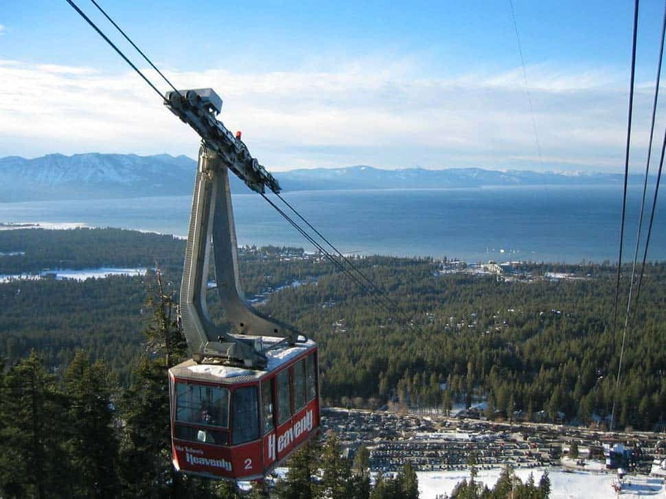 heavenly resort gondola