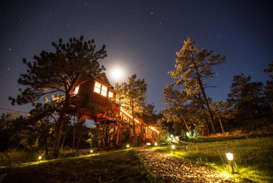 colorado treehouse rentals