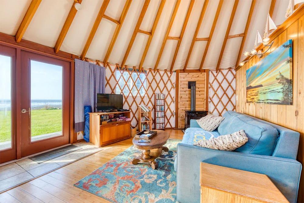 oregon yurt vacation rental