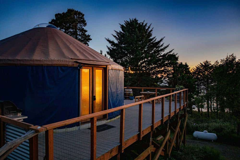 otter rock surf yurt oregon