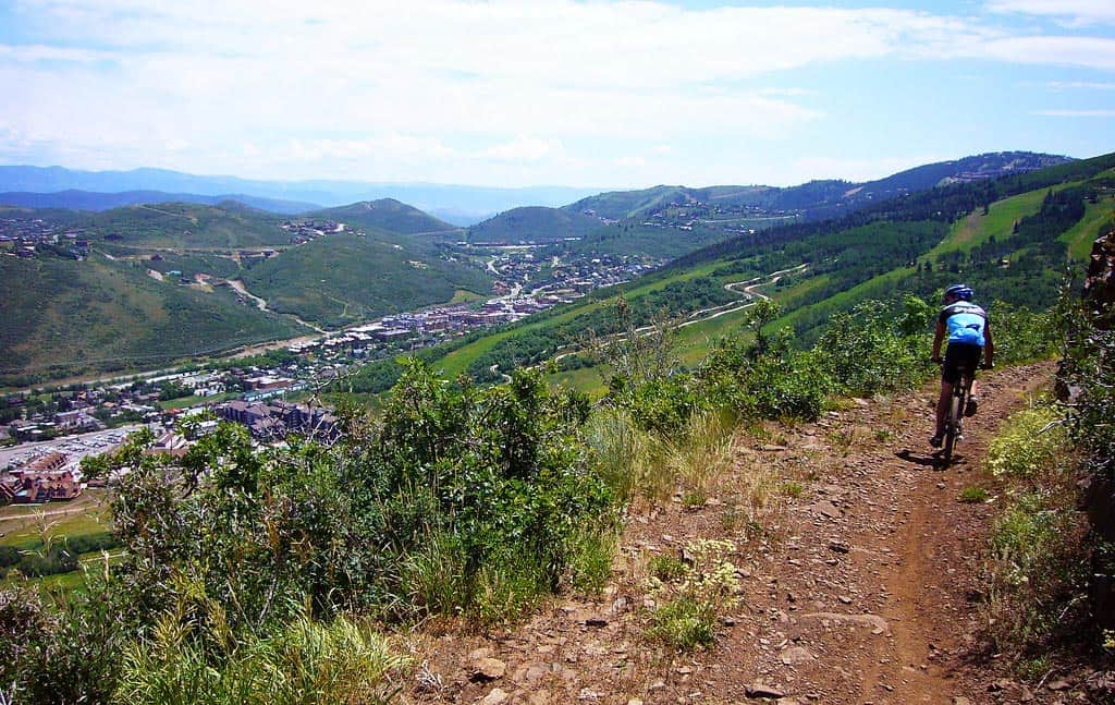 park city mountain biking