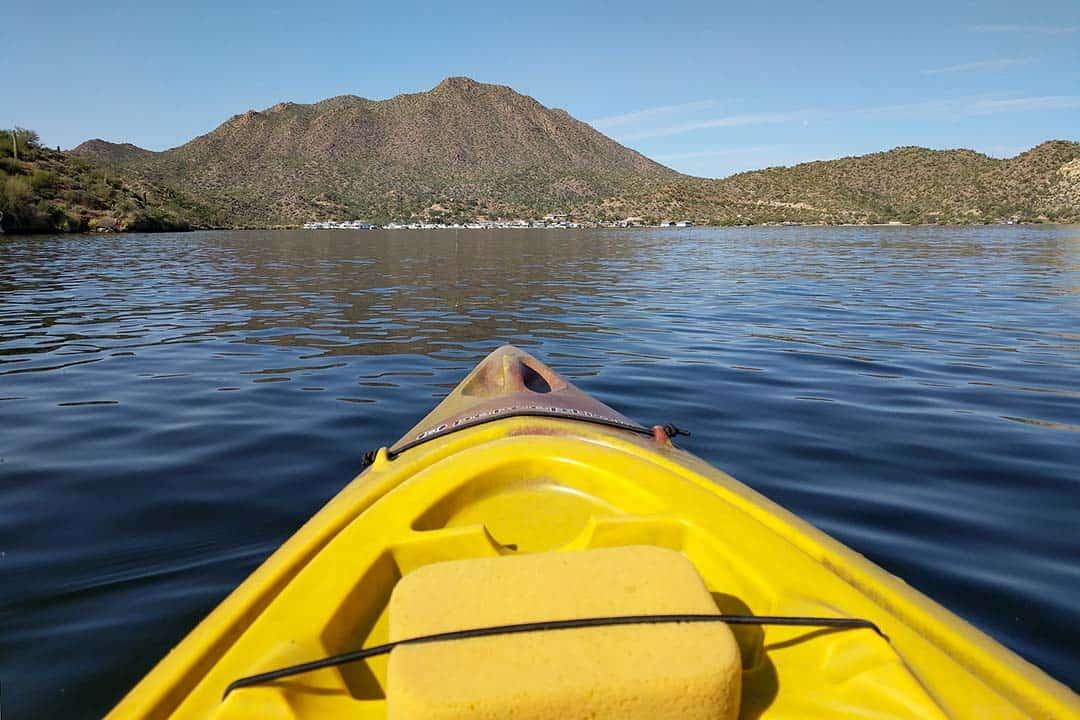 saguaro lake kayaking