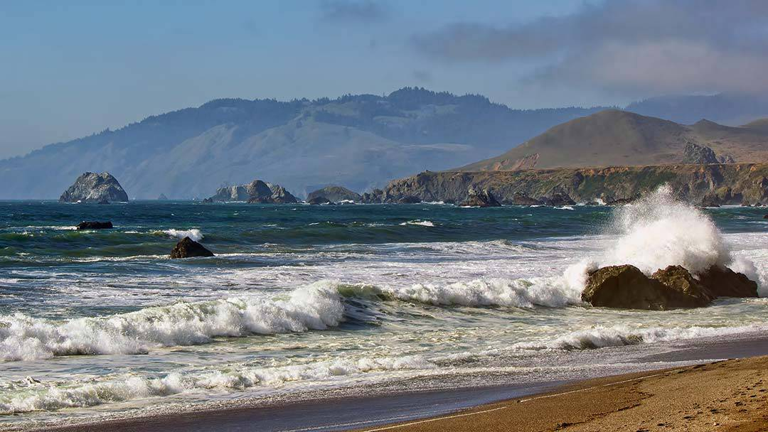 wrights beach sonoma coast