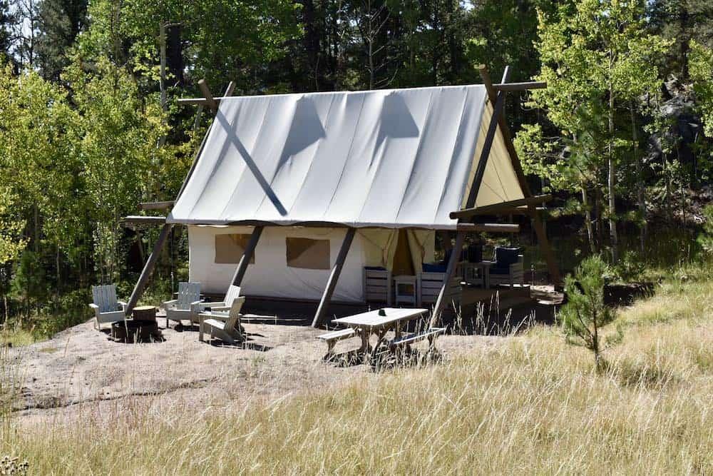Campsite at Black Tree Resort