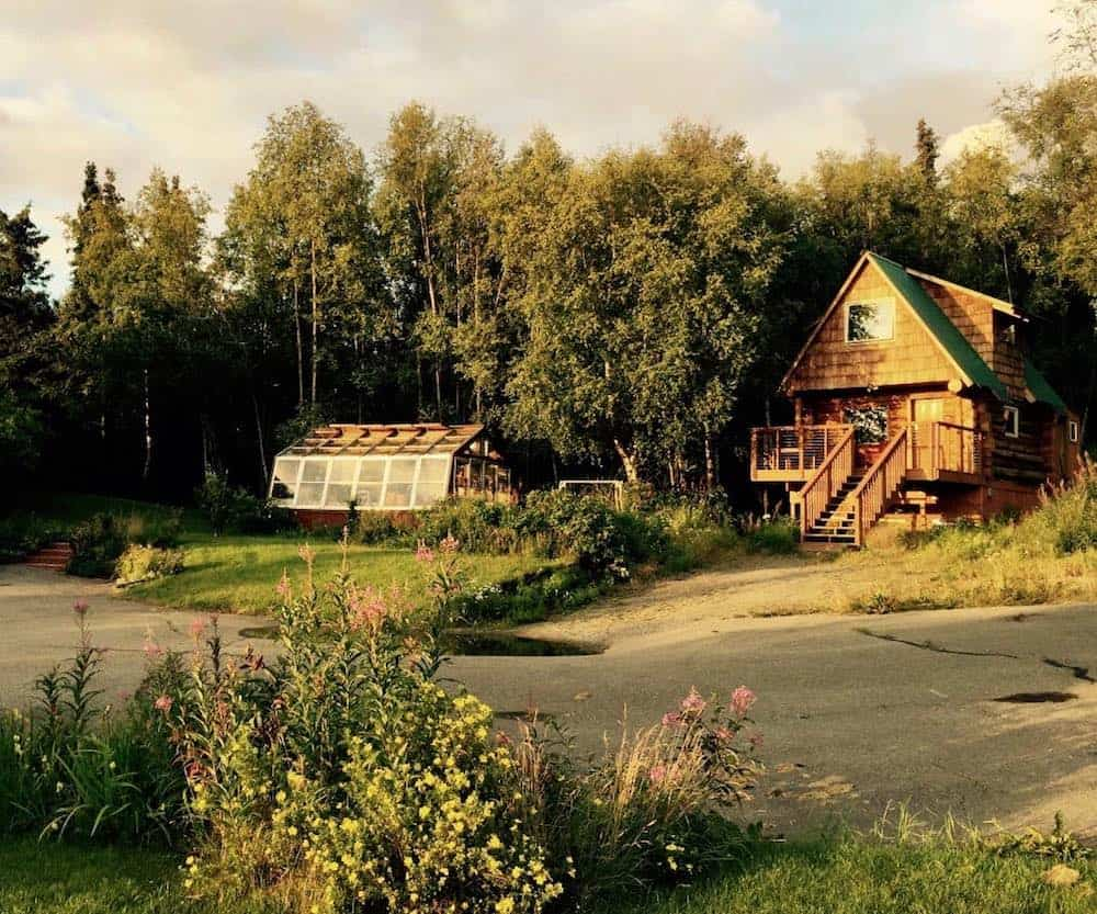 Log Cabin Retreat in Anchorage Alaska