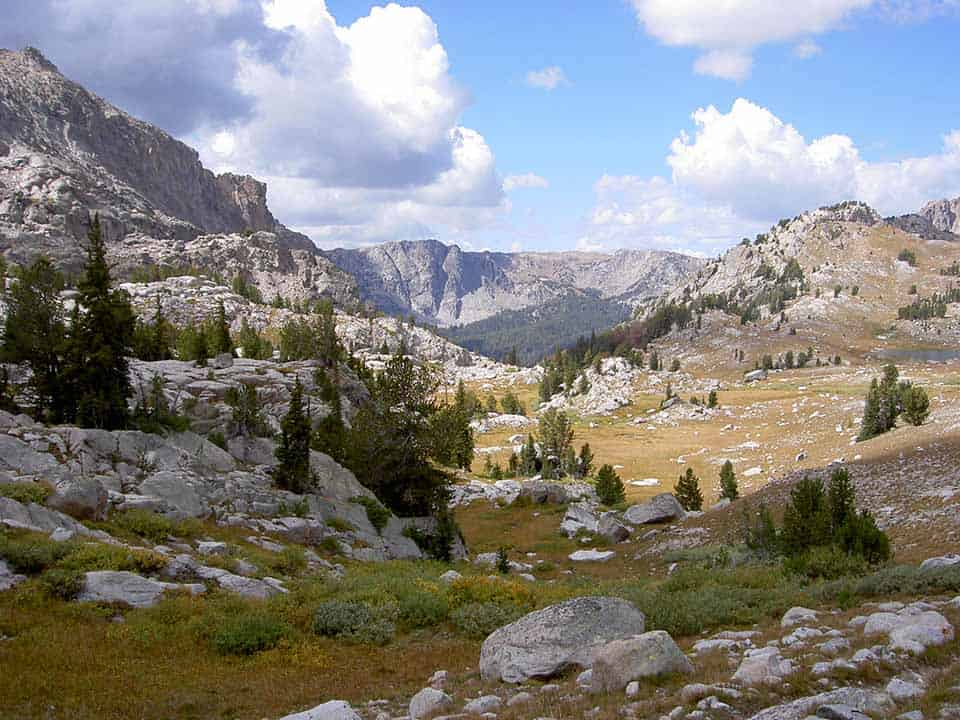 Lozier Lakes Wind River Range