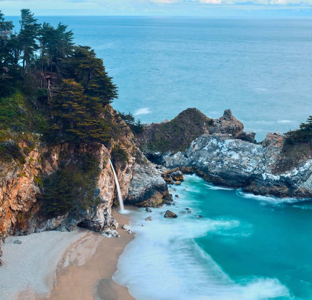 McWay Waterfall in Big Sur