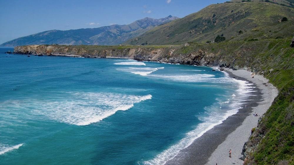 Sand Dollar Beach in Big Sur California
