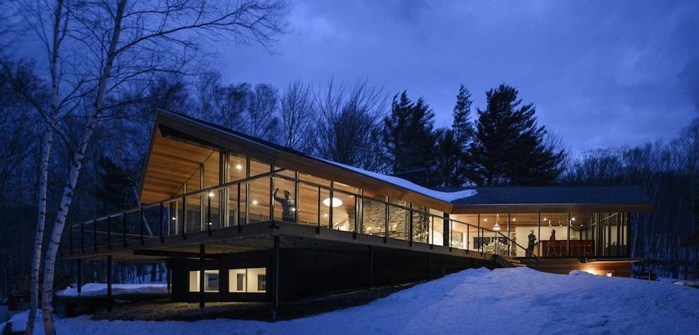 The Stowe Glass House in Vermont
