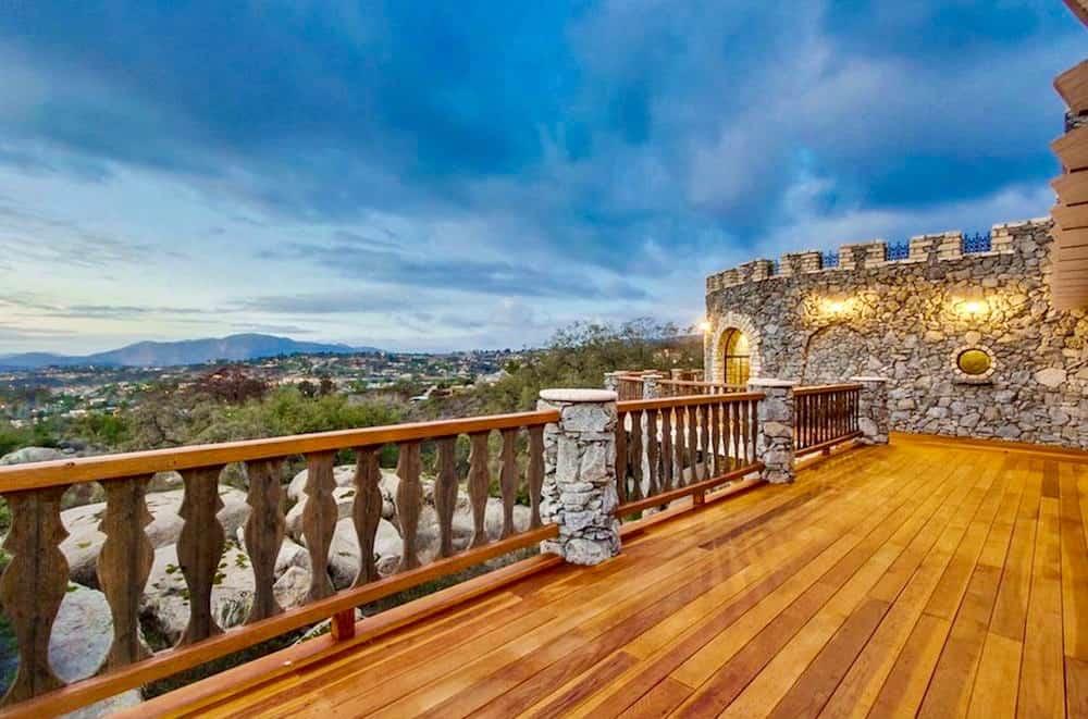 The Alpine Castle in California