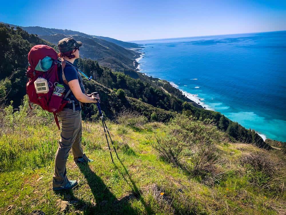 Vicente Flat Trail in Big Sur