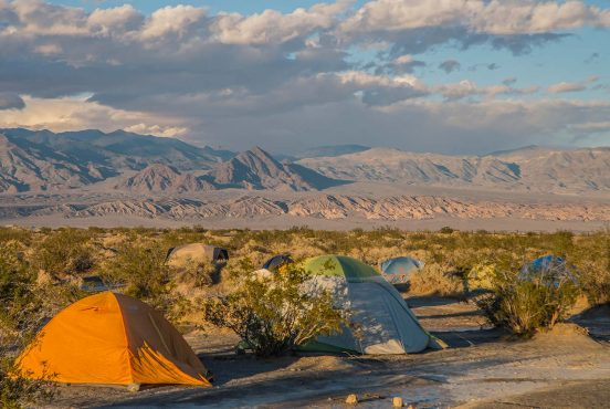 camping death valley national park