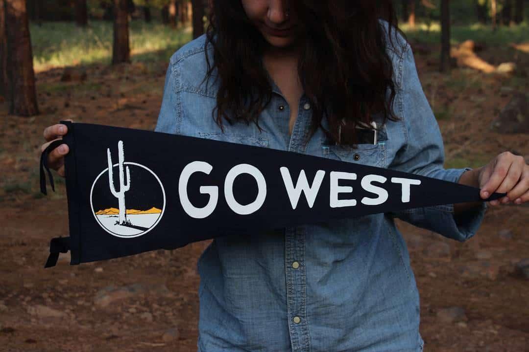 go west pennant