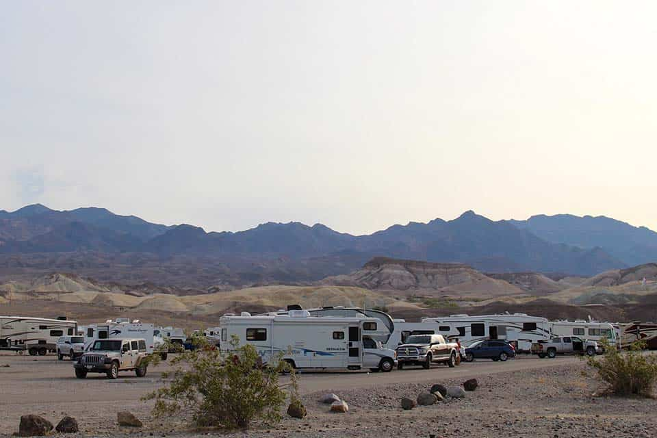 sunset campground death valley