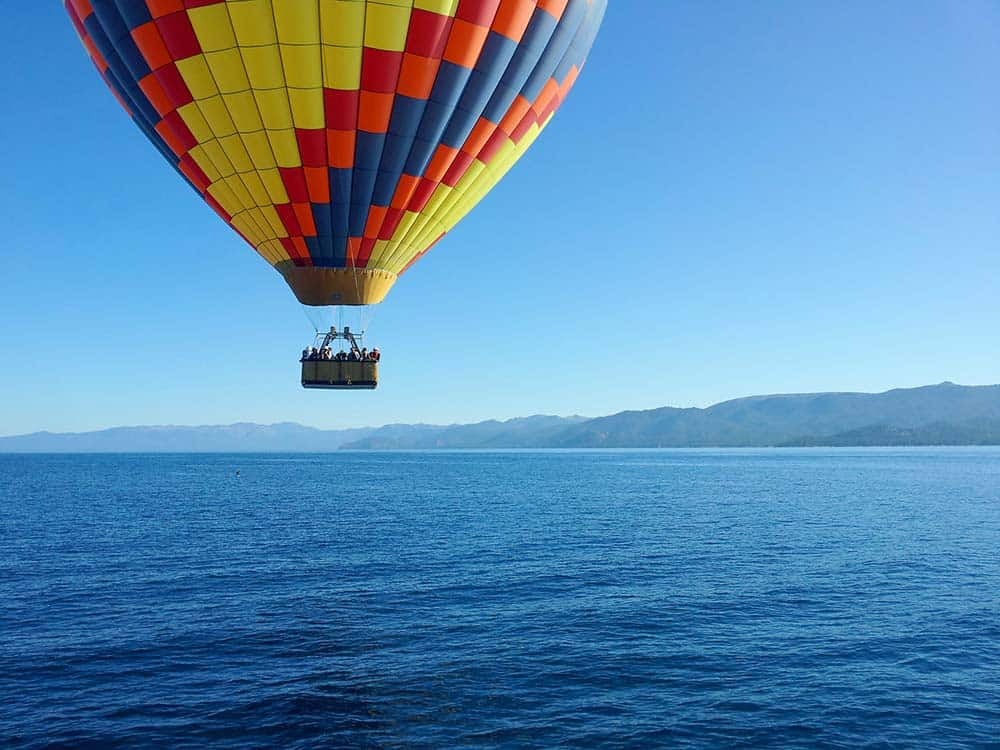tahoe hot air balloon rides