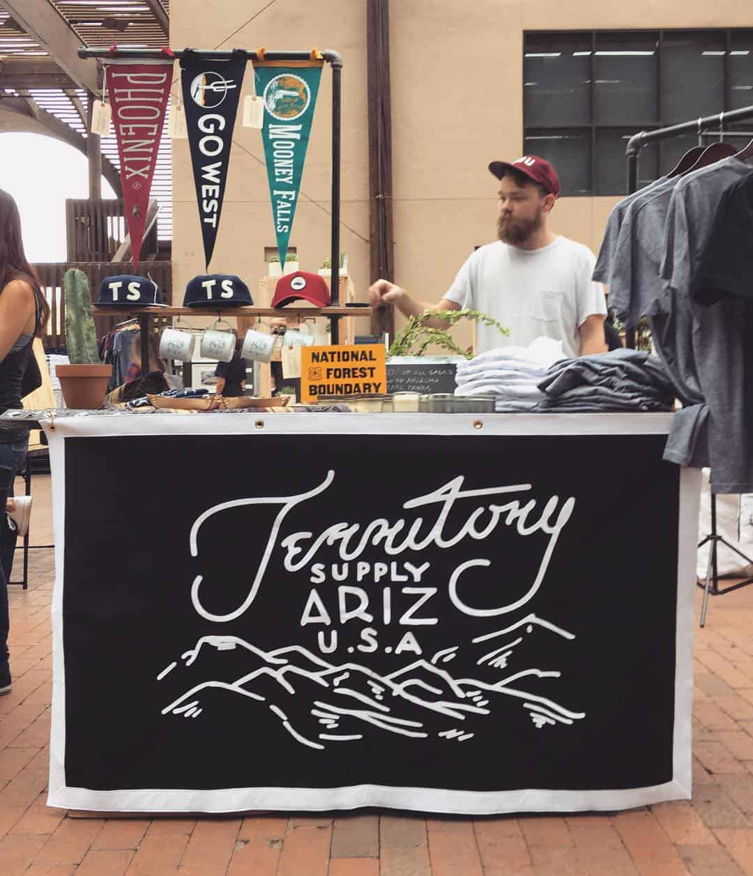 territory supply pop up shop