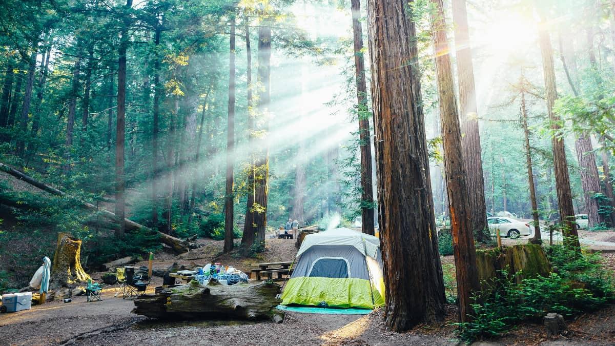 ventana campground big sur