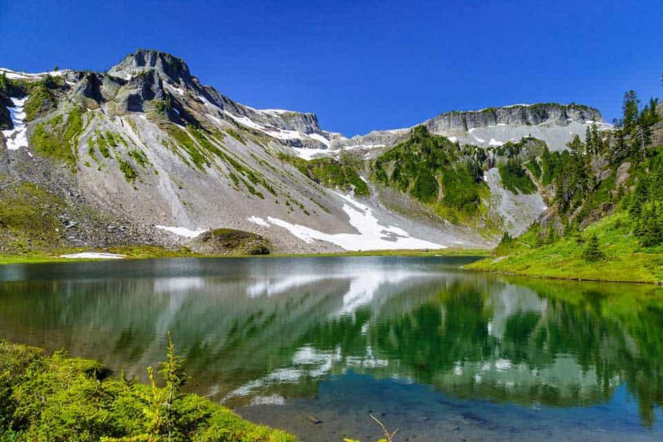 Bagley Lakes Mount Baker