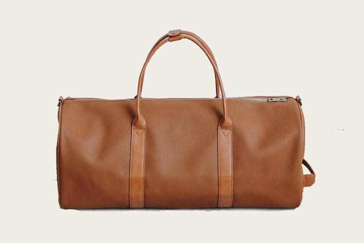 ULX Leather Weekender